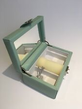 Dulwich Designs Medium Ladies Jewellery box - Duck Egg