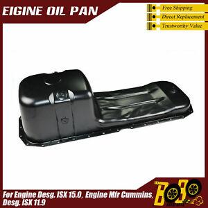 Engine Oil Pan Fit Engine Desg. ISX 15.0, Engine Mfr Cummins,Desg. ISX 11.9