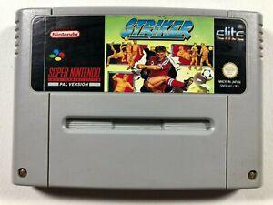 Striker - Super Nintendo SNES Game Cart PAL