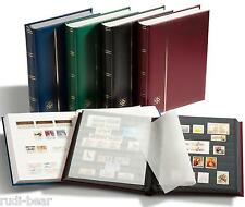 Leuchtturm Einsteckbuch DIN A4, 64 schwarze Seiten blau TYP Comfort (314718)