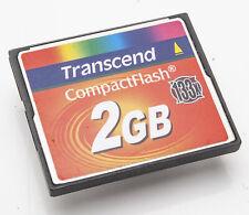 Transcend 2GB CF Karte 133x Compact Flash
