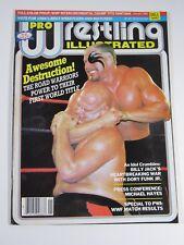 Pro Wrestling Illustrated Magazine January 1985 Billy Jack Dory Funk Jr Poster