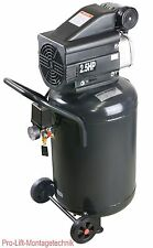 2kW Kompressor 1Zyl. ölgeschmiert Standkompressor platzsparend 230V 50Hz 00554