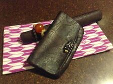 Japanese tobacco pouch & pipe case (Sagemono), c. late Edo Period/mid-19th cent.