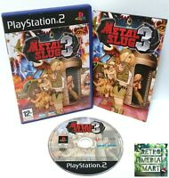 Metal Slug 3 ~ Sony Playstation PS2 BLACK Label Game ~ PAL *Excellent Complete*