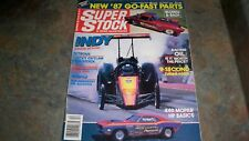 SUPER STOCK & DRAG ILLUSTRATED NHRA IHRA RACING MAGAZINE DECEMBER 1986
