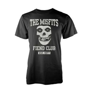 Misfits 'Fiend Club EST. 1977' T Shirt - New & Official Band Product,