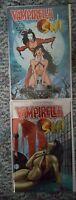 Vampirella/Shi #1 Harris REGULAR & RARE CHROMIUM VARIANT COVER