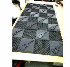 "1-1/2"" Thick Studio Acoustic Soundproofing Foam Tiles 48""x 96"