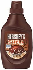 Hershey's Shell Topping, 205g chocolate flavored crispy coverd