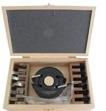 Falz- und Profilmesserkopf Set 40 mm 30-teilig Fräswerkzeug Profilmesser