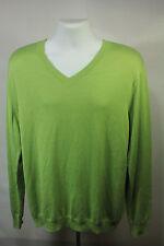 New Perry Ellis Light Green Long Sleeve Shirt Size XL