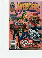 AVENGERS # 401 !!2! 2ND TO LAST ISSUE IN RUN !! MIKE DEODATO !! ONSLAUGHT APP !!