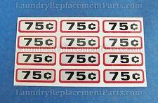 24 Pack Greenwald Slide Decal $.75 For Wascomat Ipso Huebsch Part# 00-9104-04
