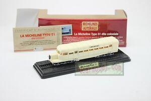 1/87 HO Scale ATLAS Tram Model LA MICHELINE TYPE 51 Dite coloniale 1933