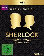 2 Blu-rays * SHERLOCK - SEASON / STAFFEL  3 # NEU OVP WVG