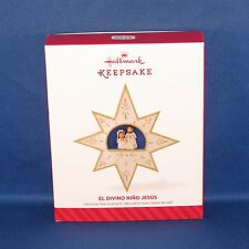Hallmark 2014 El Divino Nino Jesus Holy Family Star Keepsake Christmas Ornament