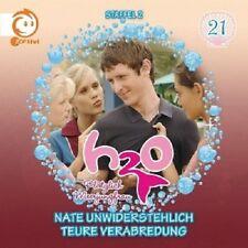 H2O-PLÖTZLICH MEERJUNGFRAU - 21: NATE UNWIDERSTEHLICH/TEURE VERABREDUNG  CD NEU