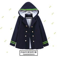 Seraph of the End Owari no Serafu Yuichiro Hyakuya Coat Jacket hoodie casual