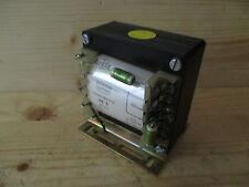 Bürklin Transformator  UE 3  Trafo  pri. 220 V  sek. 15/12/10 V  50 VA T8/123