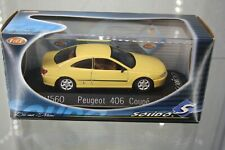 Solido Peugeot 406 Coupe gelb yellow  1:43