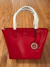 "Kate Spade ""ROSA"" Medium Leather Tote Hotchili **New with Tags**MSRP$299"