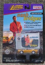 Johnny Lightning Hollywood on Wheels Nash Bridges 1971 Hemi Cuda W Show Card