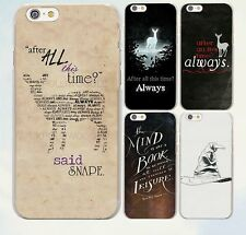 Harry potterphone case After All This Time Harry potter quotes  Case for iPhone