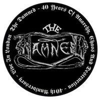 New circular Vinyl Sticker 12cm punk damned 40th goth new rose laptop car retro