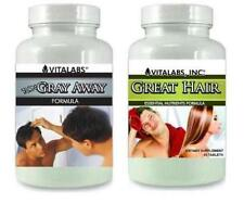 Anti Gray Turn Grey Away Hair Pills Restores Natural Colour Hair Loss Thinning