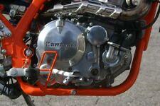 Kawasaki KLR 650 V2A Motorschraubensatz Edelstahl Super Optik