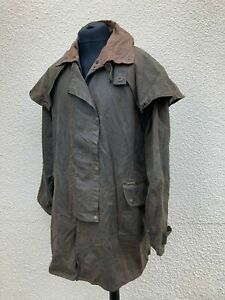 Driza-Bone Bushman Drover Brown Deluxe Short Wax Coat XXL