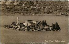 1953 Novara - Lago d'Orla, Isola San Giulio Italia al Lavoro - FP B/N VG