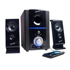 Supersonic Sc1120 2.1-Channel Usb Multi-Media Speakers New