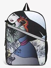 Disney Mulan Backpack Book Bag Mushu Mojo Life New With Tags