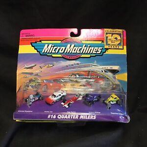 Micro Machines 16 Quarter Milers 75030 Galoob 1997
