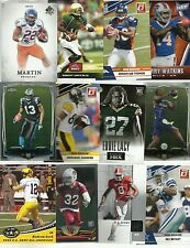 Lot of 25 NFL Rookie RC Cards Luck, Watkins, RG3, Bryant, Lacy, Hopkins, Cooks+
