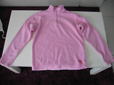 Pull polaire rose Quechua en TBE - Taille 14 ans
