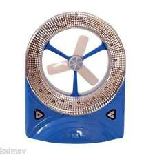 Rechargeable LED Light with Fan (Blue)