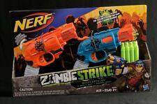 Nerf Zombie Strike Doublestrike 2 Pack NEW SEALED