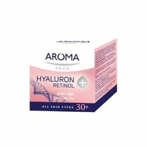 Aroma Hyaluron + Retinol Day cream with Hyaluronic Acid Against Wrinkles 30+ 50m