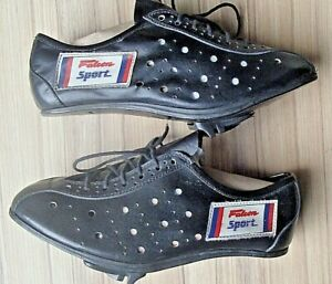Vintage Falcon Sport Leather Cycling Shoes With Shoe Plates size 40  L'EROICA