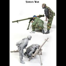 1/35 Resin Syrian War 2 Soldiers W/Weapon unpainted unassembled BL293