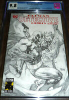 Detective Comics 1000 CGC 9.8 Jim Lee Sketch Variant Torpedo Comics Exclusive