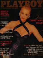 Playboy December 1987 Gala Christmas Issue | Brigitte Nielsen India Allen #7438