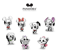 Brand New Pandora Disney Characters Collection Charms With FREE Pouch Bag