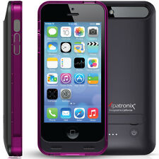 iPhone 5 5S Protective Battery Charging Case Cover 2400mAh MFi 90-Day Warranty
