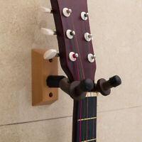 Guitar Bass Wall Mount Hangers Holder Hook Keeper Bracket Hanger Wooden Wood