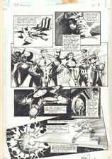 Martian Manhunter #1,000,000 p.3 - Justice Legion App - 1998 art by Tom Mandrake Comic Art