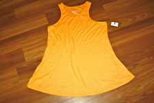 CHELSEA AND THEODORE Size M Women's Orange Tank Top NWOT